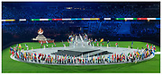 Tokyo 2020 Olympic Games closing ceremony. at the Olympic Stadium