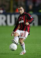 Fotball<br /> Italia Serie A<br /> 18.11.2006<br /> Empoli v Milan 0-0<br /> Foto: Inside/Digitalsport<br /> NORWAY ONLY<br /> <br /> Cristian Brocchi (Milan)