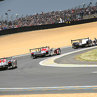 #3, Audi R10 TDI, Audi Sport Team Joest, #1, Audi R10 TDI, Audi Sport Team America, Le Mans 24H, 2007