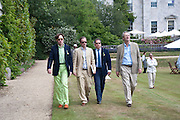 NICK FOULKES; GEORDIE GREIG; VISCOUNT LINLEY, Cartier Style et Luxe at the Goodwood Festival of Speed. Goodwood House. 5 July 2009.