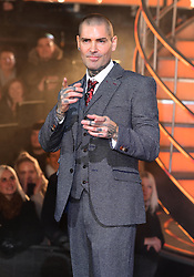 Shane Lynch is evicted during the Celebrity Big Brother Final, held at Elstree Studios in Borehamwood, Hertfordshire.