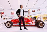 Medena, Casa Museo Enzo Ferrari. Jilles Villeneuve's car. Jonathan Giacobazzi , one of the most important formula one race car collector. , Modena
