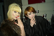 PRINCESS JULIA AND HANNAH HANRA, Ponystep Launch supported by Mac Cosmetics. Sketch. 28 April 2008.  *** Local Caption *** -DO NOT ARCHIVE-© Copyright Photograph by Dafydd Jones. 248 Clapham Rd. London SW9 0PZ. Tel 0207 820 0771. www.dafjones.com.