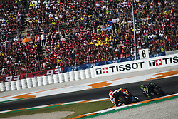 November 12, 2017 - Valencia, Valencia, Spain - 93 Marc Marquez (Spanish) Repsol Honda Team Honda during the race day of the Gran Premio Motul de la Comunitat Valenciana, Circuit of Ricardo Tormo,Valencia, Spain. Sunday 12th of november 2017. (Credit Image: © Jose Breton/NurPhoto via ZUMA Press)
