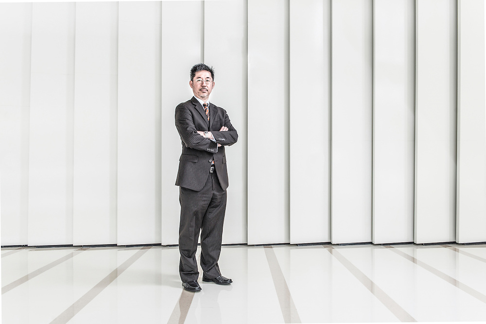 CHINA / Shanghai <br /> <br /> Ka Fai Chan, Financial Controll of Lloyd Register Shanghai Office <br /> <br /> © Daniele Mattioli Shanghai China Corporate and Industrial Photographer  for APlus Magazine