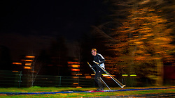 23-11-2018 NED: Training BvdGF Vasaloppet 2019, Gouda<br /> Training on cross-country skiing course in Gouda and Back on Track evening for the people that doing the Vasaloppet with the BvdGF. Vasaloppet is an annual long distance cross-country ski race held on the first Sunday of March. The 90 km (56 mi) course starts in the village of Sälen and ends in the town of Mora in northwestern Dalarna, Sweden. It is the oldest cross-country ski race in the world, as well as the one with the highest number of participants.