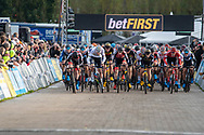 2019-11-03: Cycling: Superprestige: Ruddervoorde: Explosive starting action in Ruddervoorde