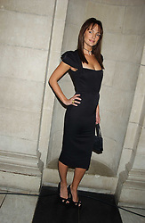 Model SAFFRON ALDRIDGE at the 2005 British Fashion Awards held at The V&A museum, London on 10th November 2005.<br /><br />NON EXCLUSIVE - WORLD RIGHTS