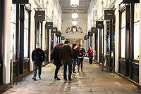 Covent Garden has  reopening after Lockdown with businesses and restaurants getting ready to welcome visitors  for Christmas photo by Roger Alarcon