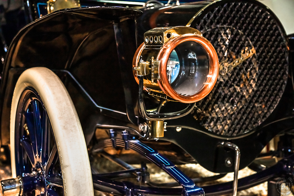 """""""Parts From The Past 15"""" - Abstract photograph of automobile parts, shot with special permission at the National Automobile Museum in Reno, Nevada. <br /> <br /> Available as prints but not as stock photography."""