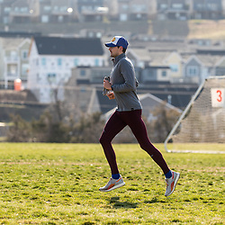 Reebok Boston Track Club<br /> home base training<br /> Domanic,