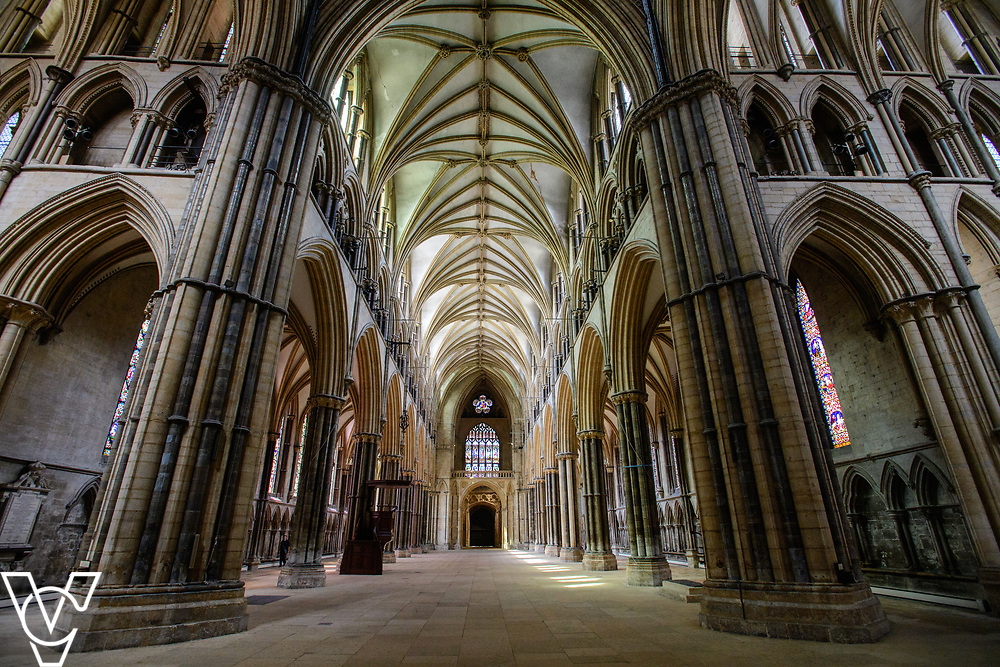 The Nave at Lincoln Cathedral.<br /> <br /> Picture: Chris Vaughan Photography for Lincoln Cathedral<br /> Date: June 21, 2018
