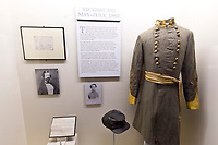 Exhibits, Museum of the Confederacy, Richmond, Virginia USA