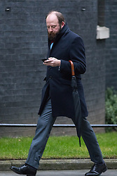 © Licensed to London News Pictures. 31/01/2017. London, UK. Joint Downing Street Chief of Staff Nick Timothy arriving at Downing Street for a cabinet meeting this morning. Photo credit : Tom Nicholson/LNP