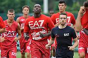 Rakim Sanders <br /> Allenamento EA7 Emporio Armani Olimpia Milano <br /> Lega Basket Serie A 2016/2017<br /> Milano 19/08/2016<br /> Foto Ciamillo-Castoria