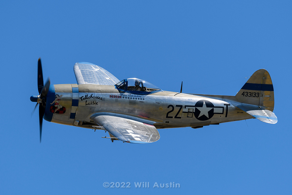 P-47D Thunderbolt.  2019 Skyfair at Paine Field in Everett, WA