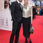 NLD/Amsterdam//20140330 - Filmpremiere Lucia de B. , Anita Witzier en partner Michel Nillesen
