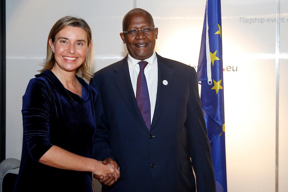 20150603- Brussels - Belgium - 03 June2015 - European Development Days - EDD  -  Sam Kutesa and Mogherini © EU/UE