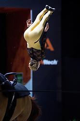 Mary Mccormick, (USA), Palatine, Carolyn Bland - Individuals Women Final Vaulting - Alltech FEI World Equestrian Games™ 2014 - Normandy, France.<br /> © Hippo Foto Team - Jon Stroud<br /> 05/09/2014