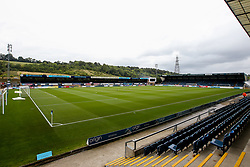A general view of Adam's Park home of Wycombe Wanderers - Mandatory by-line: Robbie Stephenson/JMP - 18/08/2018 - FOOTBALL - Adam's Park - High Wycombe, England - Wycombe Wanderers v Bristol Rovers - Sky Bet League One