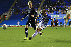 22 August 2017 -  EFL Cup Round Two - Reading v Millwall - Sam Smith of Reading scores their 3rd goal - Photo: Marc Atkins/Offside