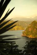 View of Tufi Fjord from Tufi Lodge, Tufi, Cape Nelson, Oro Province, Papua New Guinea