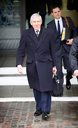 © under license to London News Pictures. 02/02/11 Jack Straw leaves the Queen Elizabeth Conference Centre after giving evidence on the last day of the Chilcott Inquiry into the Iraq War. Photo credit should read: Olivia Harris/ London News Pictures