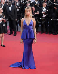 Model Hailey Baldwin attends the Opening Ceremony of the 70th annual Cannes Film Festival at Palais des Festivals in Cannes, France. 17 May 2017 Pictured: Hailey Baldwin. Photo credit: Francis Specker / MEGA TheMegaAgency.com +1 888 505 6342