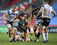 Rugby Union - 2020 / 2021 Gallagher Premiership - Leicester Tigers vs Bath - Welford Road<br /> <br /> Leicester Tigers' Jasper Wiese in action during this afternoon's game<br /> <br /> COLORSPORT/ASHLEY WESTERN