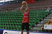 Sassari 14 Agosto 2012 - Qualificazioni Eurobasket 2013 -Allenamento<br /> Nella Foto : MASSIMO CHESSA<br /> Foto Ciamillo