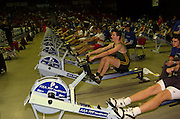 2004_British_Indoor_Rowing_Championships.NIA. Birmingham.England. 21.11.2004.GV's of the competition area.[Mandatory Credit Peter Spurrier/ Intersport Images]