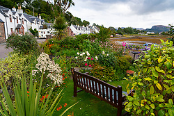 Village of Plockton, in Lochalsh, Wester Ross area of the Scottish Highlands ,Scotland, UK