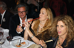 JERRY HALL at Andy & Patti Wong's annual Chinese New Year party, this year celebrating the year of the dog held at The Royal Courts of Justice, The Strand, London WC2 on 28th January 2006.<br /><br />NON EXCLUSIVE - WORLD RIGHTS