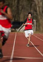 St Paul's School track meet April 27, 2013.