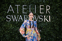 Anna Cleveland attends the Atelier Swarovski - Cocktail Of The New Penelope Cruz Fine Jewelry Collection during Paris Haute Couture Fall Winter 2018/2019 in Paris, France on July 02, 2018. Photo by Nasser Berzane/ABACAPRESS.COM
