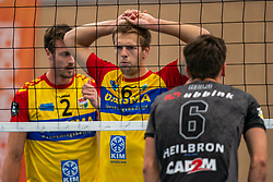 Nico Manenschijn #6 of Dynamo in action in the supercup semifinal between Draisma Dynamo – Active Living Orion on October, 03 2020 in Van der Knaaphal, Ede