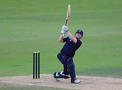 South's Ed Pollock during the 100 Ball Trial match at Trent Bridge, Nottingham.