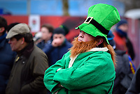 LONDON, ENGLAND - MARCH 17: Ireland fans before the NatWest Six Nations Championship match between England and Ireland at Twickenham Stadium on March 17, 2018 in London, England. (Photo by Ashley Western - MB Media via Getty Images)