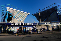 A general view outside The Den, home of Millwall football club<br /> <br /> Photographer Craig Mercer/CameraSport<br /> <br /> Football - The Football League Sky Bet Championship - Millwall v Middlesbrough - Saturday 6th December 2014 - The Den - London<br /> <br /> © CameraSport - 43 Linden Ave. Countesthorpe. Leicester. England. LE8 5PG - Tel: +44 (0) 116 277 4147 - admin@camerasport.com - www.camerasport.com