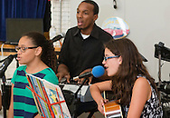 """Middletown, New York - Campers from the YMCA of Middletown's Camp Funshine performed a """"Music Through the Years"""" program at the Center for Youth Programs on Aug. 6, 2015."""