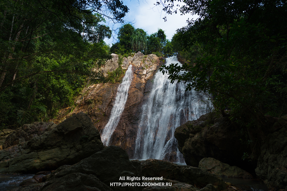 Na Muang waterfall in Ko Samui island, Thailand