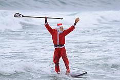 DEC 23 2012 Beach Santa Claus