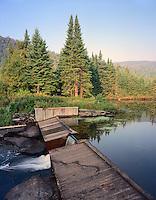 Moose Falls, Deer Mountain State Park
