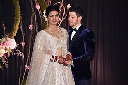 Priyanka Chopra and Nick Jonas pose for wedding photos in Delhi, India along with their guests and friends and family. 04 Dec 2018 Pictured: Nick Jonas, Priyanka Chopra. Photo credit: VB/MEGA TheMegaAgency.com +1 888 505 6342