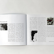 Patagonia Revisited, catalog photography exhibition (pag 6-7) published in conjunction with the Photography Exhibition, at Festival International of Photography, June 2018, Voiron France. Photographs by  Alejandro Sala