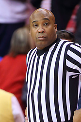 22 November 2017:  Ervin Wilson during a College mens basketball game between the Quincy Hawks and Illinois State Redbirds in  Redbird Arena, Normal IL