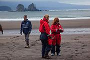 Ocean raft and 4x4 Adventure tour, North Beach, Kruzof Island, Sitka, Alaska