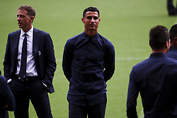 September 18, 2018 - Valencia, Spain - Cristiano Ronaldo on Mestalla pitch day Before UEFA CHAMPIONS LEAGUE match between Valencia CF vs Juventus de Milan at Mestalla  Stadium on  September 18, 2018. (Credit Image: © Jose Miguel Fernandez/NurPhoto/ZUMA Press)