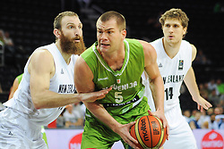 Uros Slokar of Slovenia during friendly match between National Teams of Slovenia and New Zealand before World Championship Spain 2014 on August 16, 2014 in Kaunas, Lithuania. Photo by Robertas Dackus  / Sportida.com