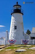 Pemaquid Point Lighthouse near Bristol, Maine, USA